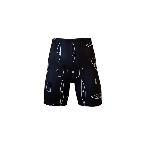 Graphic Cycling Short