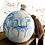Thumbnail: Handbemalte Kugelvase aus Porzellan