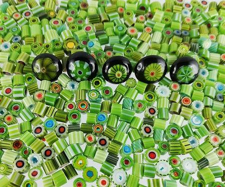 Sabine Frank - Murrinimischung grün