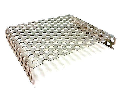 Glasstabablage und Strukturplatte