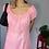 Thumbnail: Vestido em Lese Rosa - Tam P/M