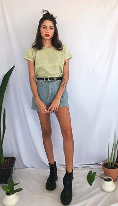 Blusa de Vó Tricozinho Verde Pastel