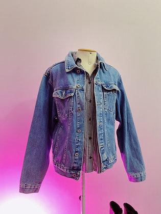 Jaqueta Jeans Vintage com CGC