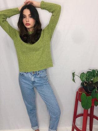 Sueter Verde Vintage CGC - Tam P