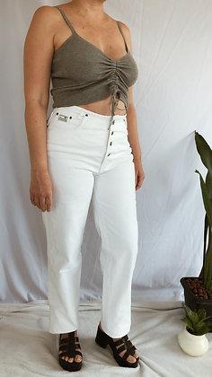 Calça Branca Vintage com CGC