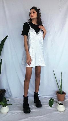 Vestido Slip Dress Branco - Tamanho M