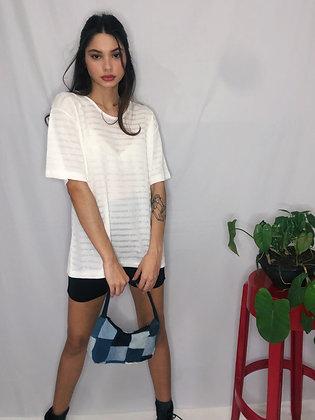 Blusa Branca Vintage CGC