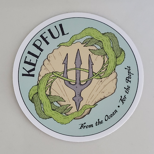 Kelpful Decal