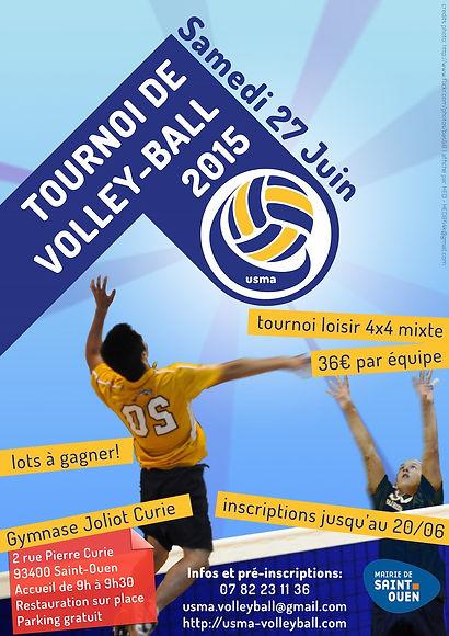 Affiche Tournoi 2015