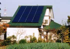 太陽光発電/実績/多結晶 5.20KW 130W/2F瓦屋根 西1面