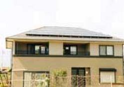 太陽光発電/実績/3.26KW/寄棟屋根