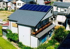 太陽光発電/実績/多結晶 5.20KW 130W/2F金属板瓦棒屋根 西1面