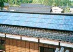 太陽光発電/実績/3.12KW/2F切妻屋根(和瓦タイプ)