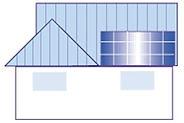 切妻屋根(金属板瓦棒葺タイプ)