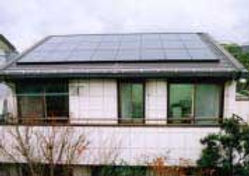 太陽光発電/実績/3.12KW/寄棟屋根