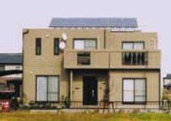 太陽光発電/実績/3.26KW/陸屋根
