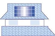 切妻屋根(和瓦タイプ)
