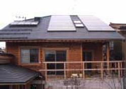 太陽光発電/実績/5.20KW/寄棟屋根