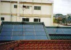 太陽光発電/実績/3.12KW/切妻屋根(和瓦タイプ)