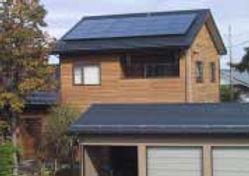 太陽光発電/実績/3.12KW/切妻屋根(金属板瓦棒屋根)