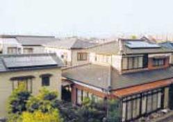 太陽光発電/実績/3.02KW/寄棟屋根