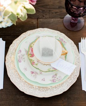 Vintage Tea Party Styled Shoot