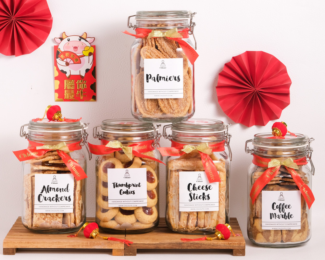 jar cookies chinese new year hamper