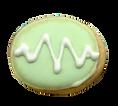 easter egg custom cookie