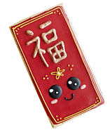 chinese new year custom cookie