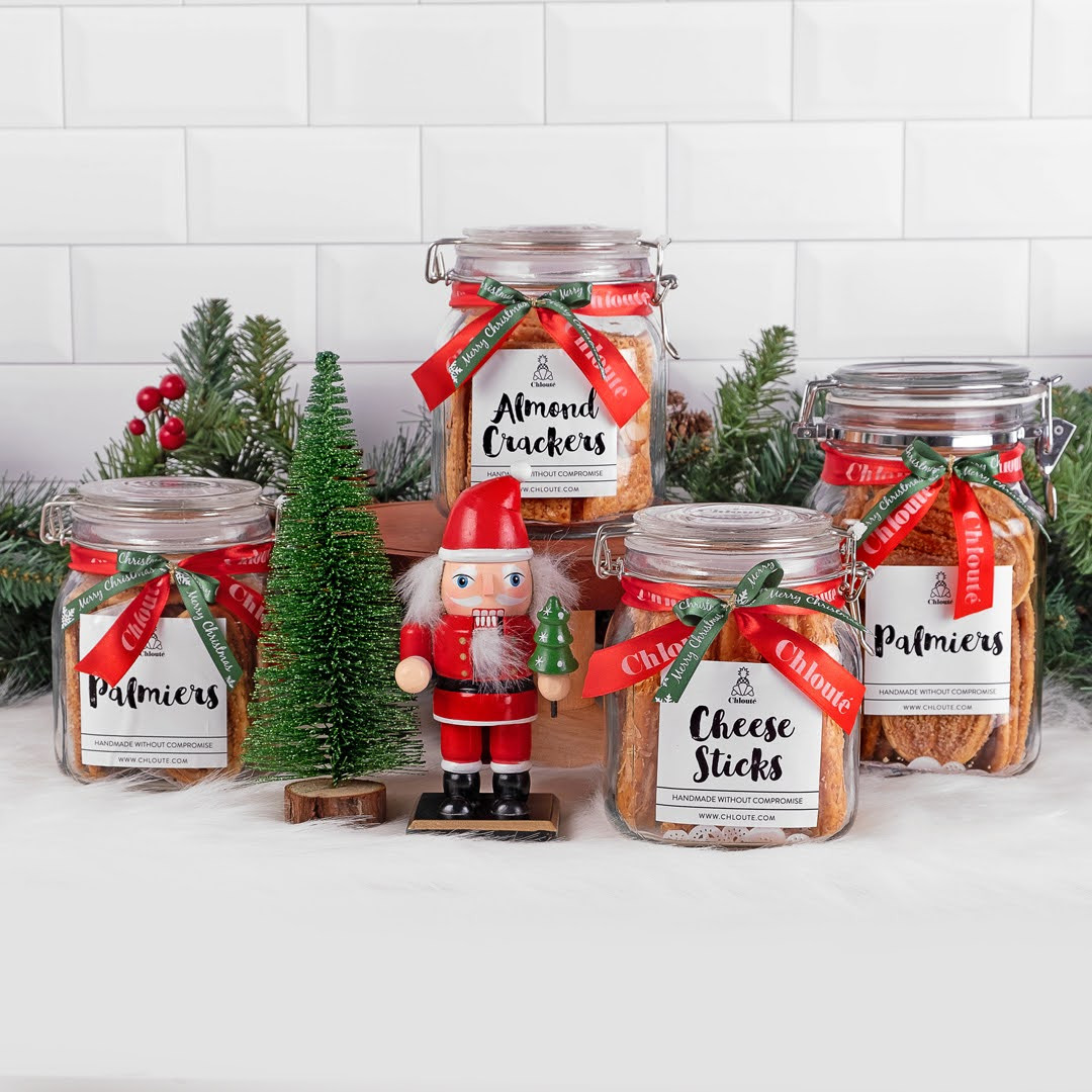 Christmas Hamper Jars