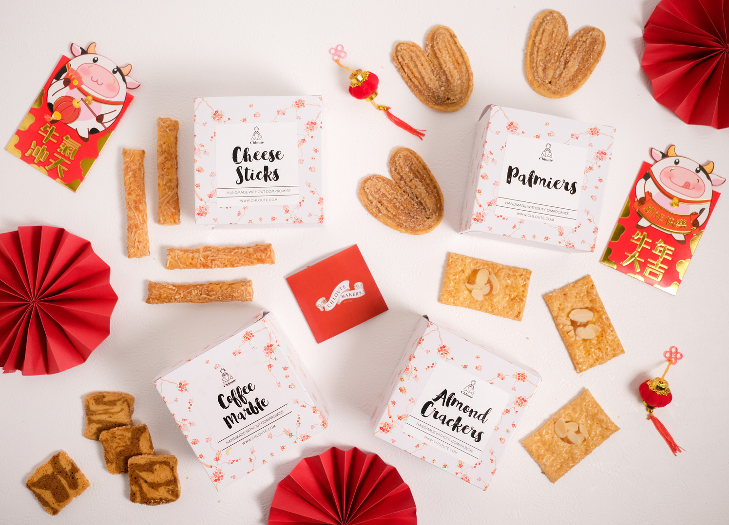 box cookies chinese new year hamper