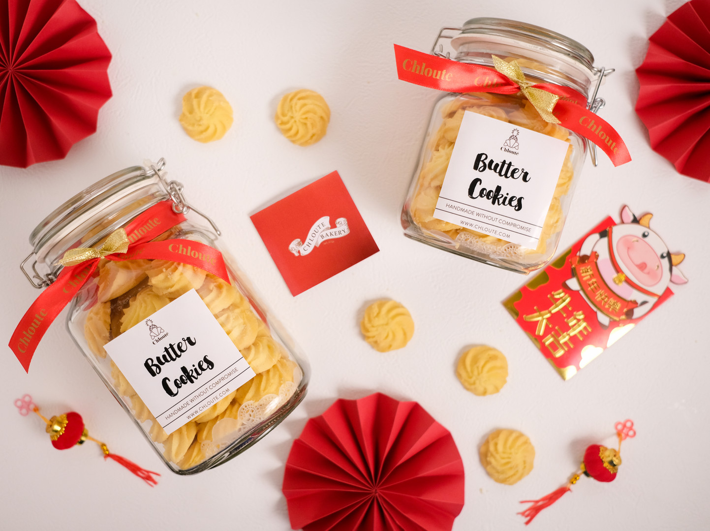 butter cookies chinese new year hamper