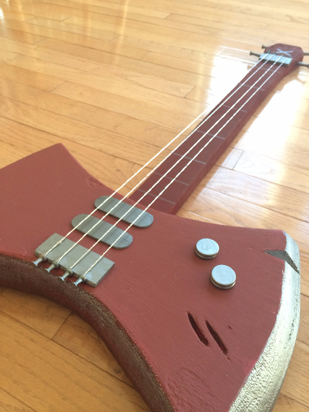 DIY Marceline Axe Bass