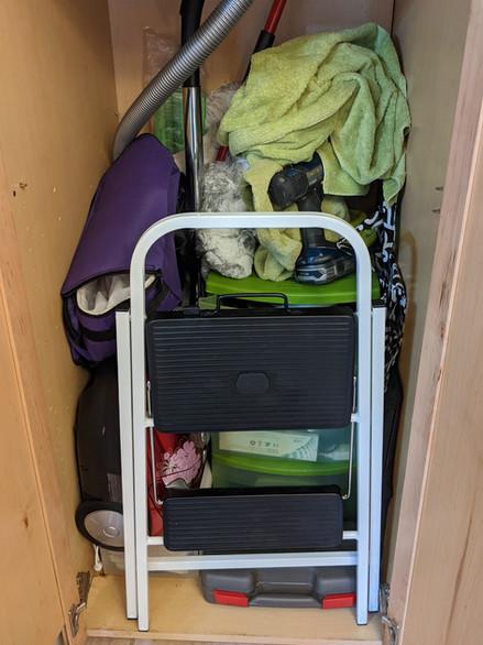 Utility Closet — Before