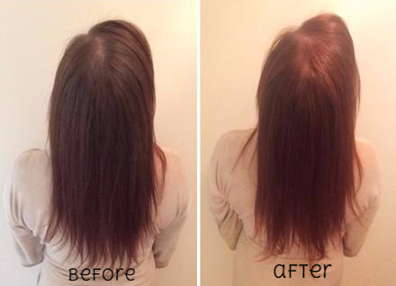 before after henna hair