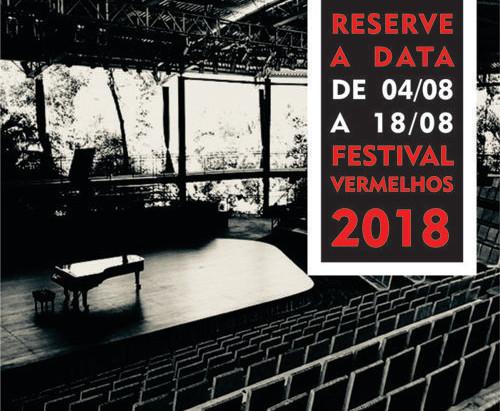 Vermelhos 2018 - Reserve a data!