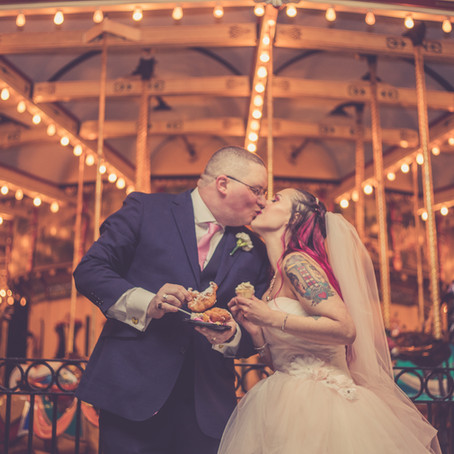 Wedding by the Carousel