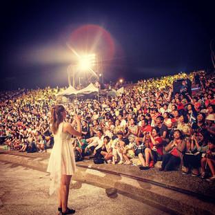 Performing in Taiwan