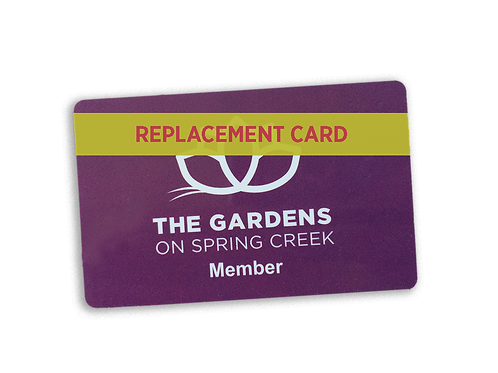 Replacement Member Card