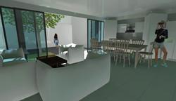 Vista sala comedor