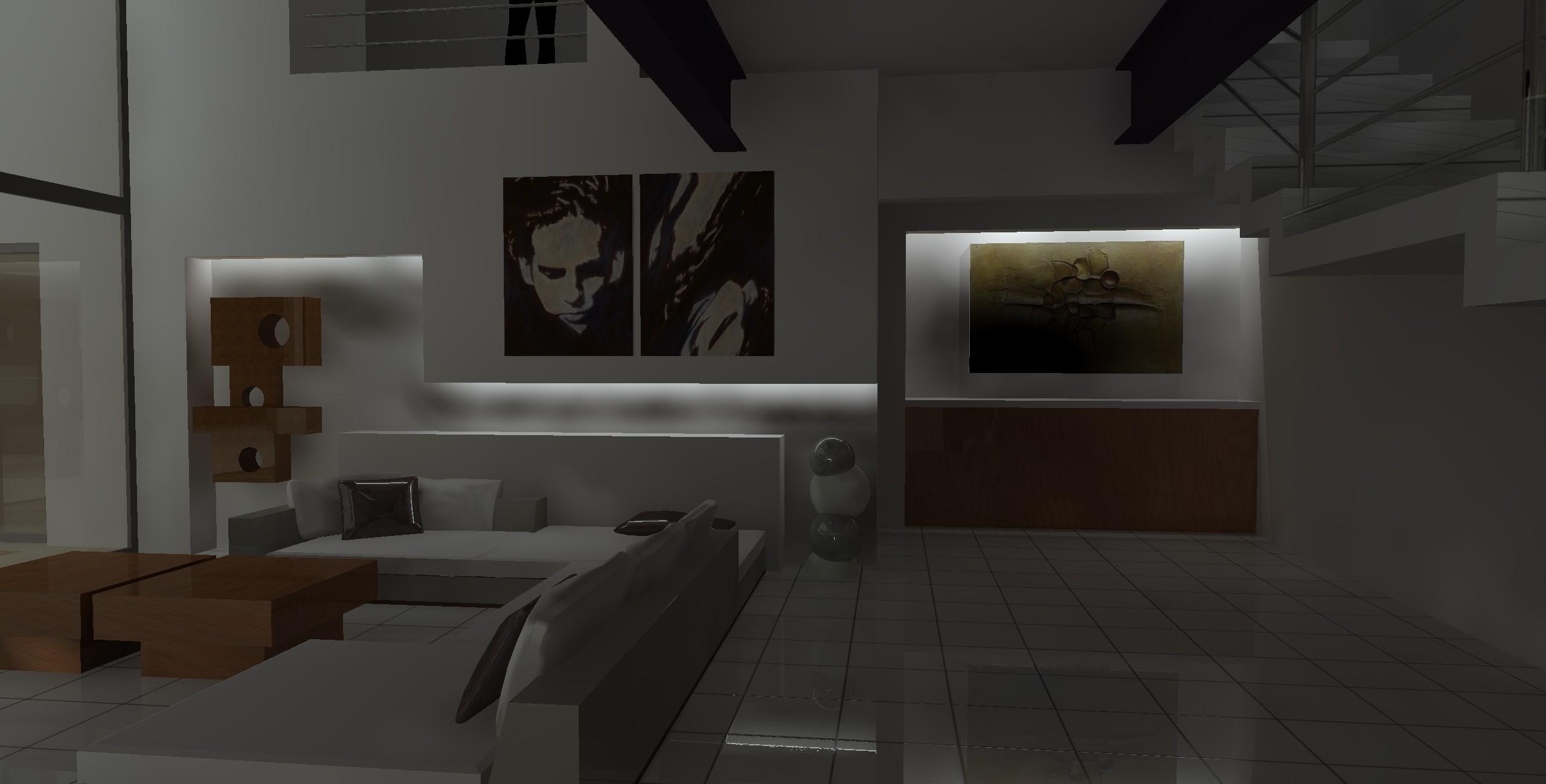 Luz indirecta muros