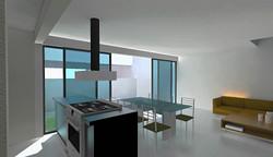 Sala comedor y cocina