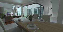 Comedor y sala