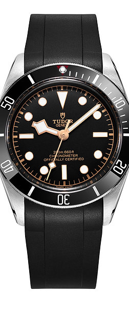 CURVED END RUBBER STRAP (TD01) TUDOR BLACK BAY 41mm SERIES