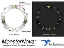 MonsterNova™ - Luminous Bezel for Seiko Monster