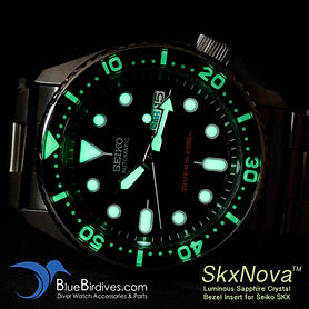 Luminous Enhancement Works for Seiko SKX and Seiko Monster