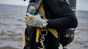 【Gulf Coast Challenge -  Crafter Blue Mechanic Ocean 300M Diver Watch】