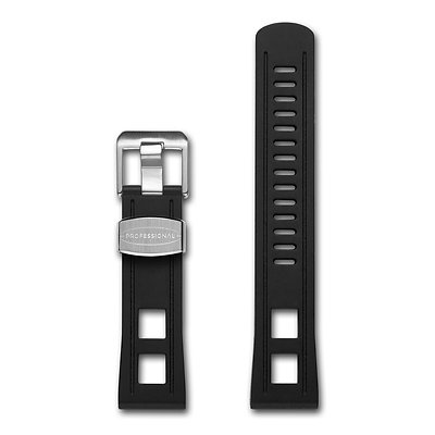 22mm STRAIGHT END RUBBER STRAP CB01