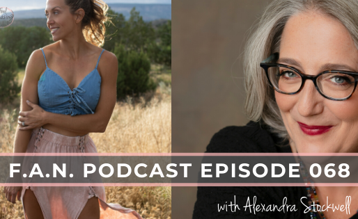 Alexandra Stockwell on the F.A.N. Podcast