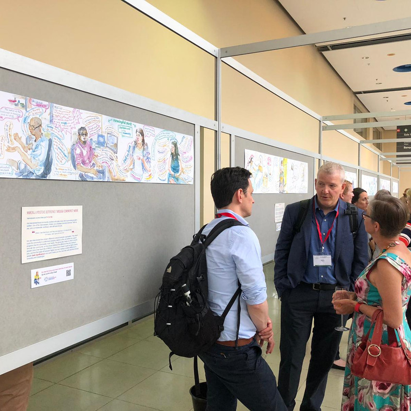 Sketches of Work Design at EAWOP 2019